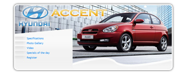 car dealer microsite